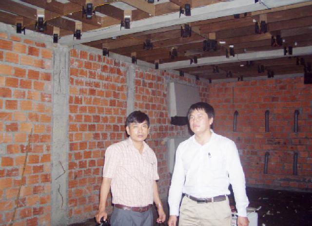Cơ sở nuôi chim yến 3 tầng của anh Nguyễn Thanh Đức tại nhà 7A/144/1 Hoàng Quốc Việt, phường An Đông, TP Huế